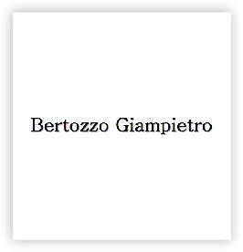 BERTOZZO GIAMPIETRO